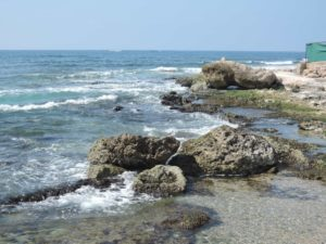 Неспокойное море