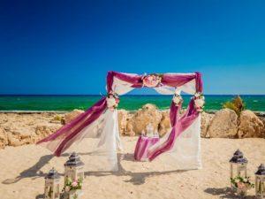 Свадьба на пляже Посейдона