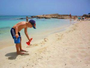 Немноголюдные пляжи